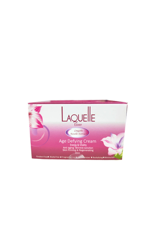 LAQUELLE LINGZHI ROSELLE EXTRACT AGE DEFYING CREAM